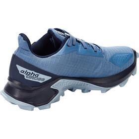 Salomon Alphacross Blast CSWP Chaussures Enfant, copen blue/navy blazer/ashley blue